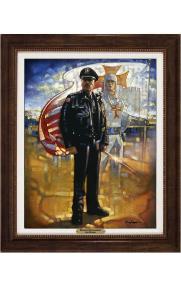 Ron DiCianni - Blessed are the Peacemakers Framed