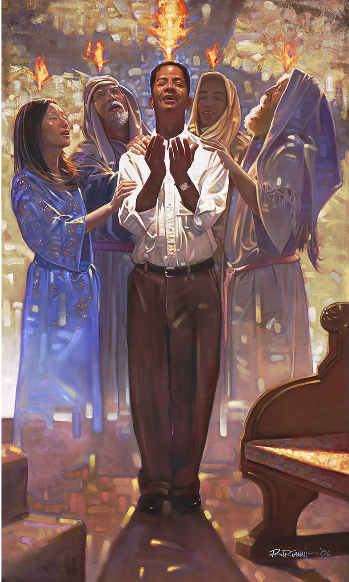 Ron DiCianni: Baptism in the Holy Spirit Artwork