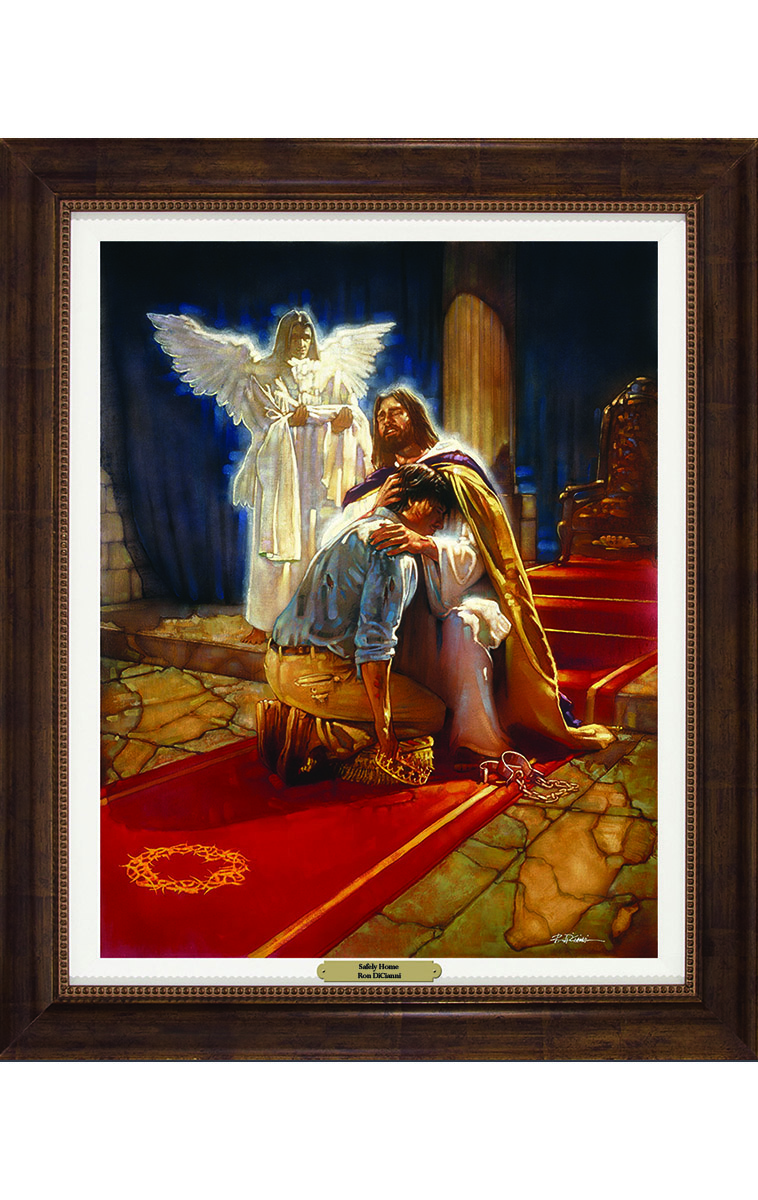 safely home Safely home found in: safely home personalized prayer card (priced per card), safely home prayer card, safely home - laminated card with crucifix, assorted prayers personalized prayer card (priced per card), safe in arms by susan.