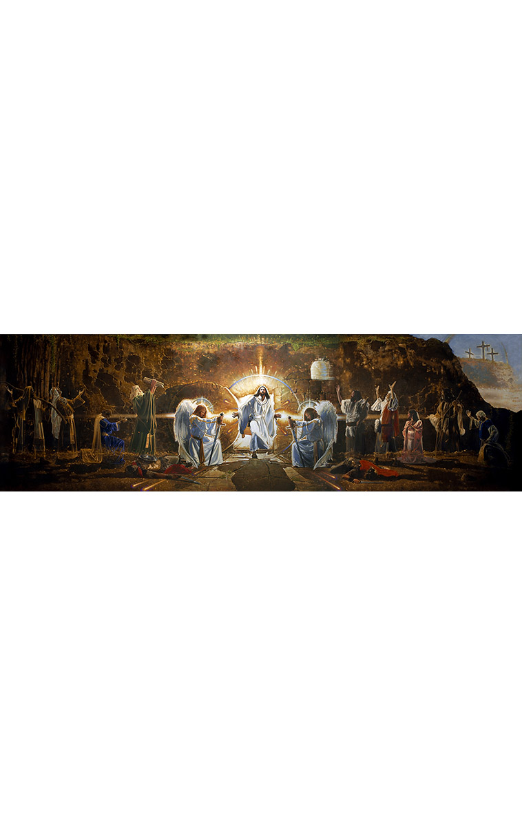 The Resurrection Mural: Artwork By Ron DiCianni