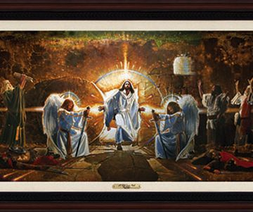 Ron DiCianni - The Resurrection Mural Framed