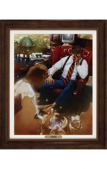 Ron DiCianni - The Servant - Framed