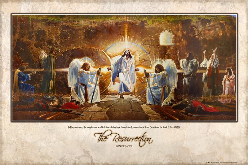 Ron DiCianni: The Resurrection Mural Artwork