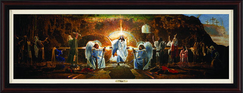 Resurrection Mural (framed) by Ron DiCianni