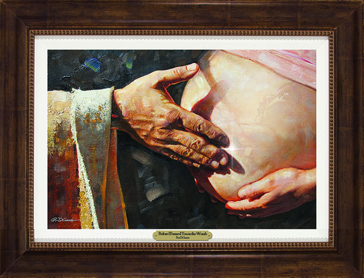 Ron DiCianni - Before I Formed You in the Womb FRAMED