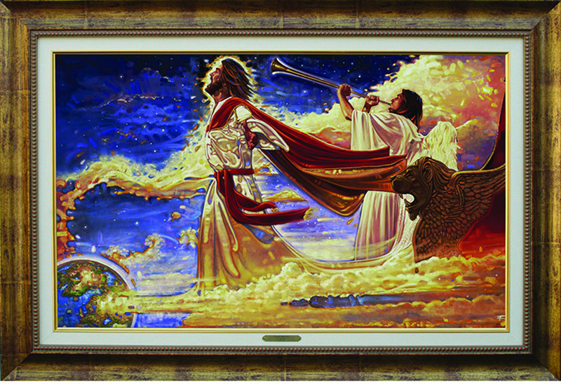 Ron DiCianni - Second Coming - Framed